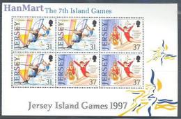 Jersey 1997 Mi Blatt 24 MNH ( ZE3 JRSh-blatt24 ) - Gymnastiek
