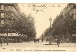 R62 PARIS 75 BOULEVARD VOLTAIRE PRIS DE LA PLACE DE LA REPUBLIQUE - Zonder Classificatie