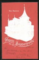 Präge-Lithographie Salzdetfurth, Hôtel Kronprinz - Bad Salzdetfurth