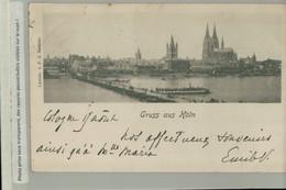 Gruss Aus KOLN   1899   (Lichtdr. V. P. J. Bachem) ( 2020 NOV 267) - Koeln