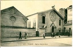 75012 PARIS - Rue De Reuilly, église Saint-Éloi (a été Détruite Après Reconstruction D'une église Moderne) - Paris (12)