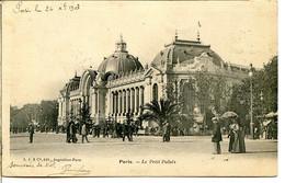 75008 PARIS - Le Petit Palais En 1903 - District 08