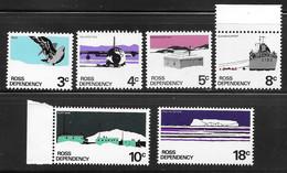 Ross Dependency - 1972 Definitive Set 6v MNH - Altri - Oceania