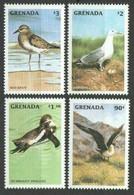 1998Grenada3707-3710Birds8,00 € - Albatrosse & Sturmvögel