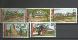 203/207   Bâtiments Et Monuments       (camerou26) - Used Stamps