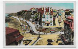 GRANVILLE EN 1950 - LA PLACE DU CASINO ANIMEE - FORMAT CPA COULEUR VOYAGEE - Granville