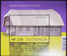 Slovenia 2020 Rural Houses Of Slovenia - Open Air Museum At Pleterje MNH (**) - Slovenië