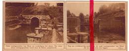 Orig. Knipsel Coupure Tijdschrift Magazine - Diest - Oude Vestingen - 1926 - Sin Clasificación