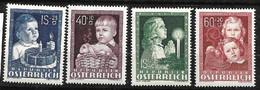 Autriche   N°765  à  768   Neufs * * TB = MNH VF     Les Moins Cher Du Site  Soldé à Moins De 15  % ! ! !   , - 1945-60 Ungebraucht