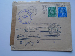 D175846  UK Cover  South Kensington 1948  -Österreichische Zensurst. Dr. K.H. Rechinger, Université Geneve Switzerland - Briefe U. Dokumente
