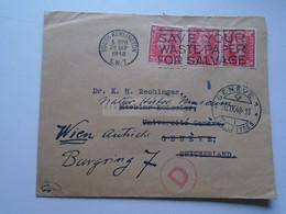 D175847 UK Cover  South Kensington 1948  -  Dr. K.H. Rechinger, Université Geneve Switzerland Redirected To Wien - Briefe U. Dokumente