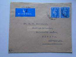 D175849 UK Airmail Cover   London Ca 1948  - Sent To  Dr. K.H. Rechinger, Université Geneve Switzerland - Briefe U. Dokumente