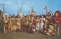 Canada - Iroquois - Caughnawaga - Ka Na Wa Ke - Reserve - Indian Indiens Indien - Poking Fire - Tribu - - Modern Cards