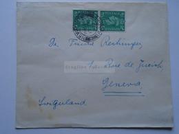 D175852 UK   Cover Newport Dundee    1947  - Sent To  Dr. Frida Rechinger,   Geneva Switzerland - Briefe U. Dokumente