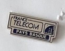 Pin' S  Ville, FRANCE  TELECOM  PAYS  BASQUE - France Telecom