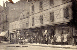 71)   MONTCEAU   Les   MINES    -  Rue Carnot        (    Magasin    PARIS   BAZAR   &   J.  BALMET   ) - Montceau Les Mines
