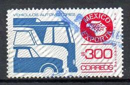 MEXIQUE. Timbre Oblitéré. Bus. - Bus