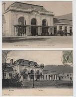 88 SAINT DIE  La Nouvelle Gare + Pavoisée - Saint Die