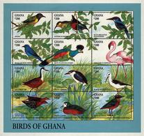 Ref. 179914 * NEW *  - GHANA . 1994. AFRICAN BIRDS. PAJAROS DE AFRICA - Ghana (1957-...)