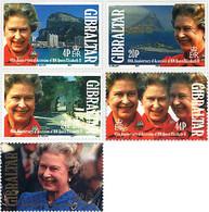 Ref. 83461 * NEW *  - GIBRALTAR . 1992. 40th ANNIVERSARY OF ELIZABETH II'S ACCESSION. 40 ANIVERSARIO DEL ACCESO AL TRONO - Gibilterra