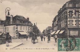 CPA - Montluçon - La Ville Gozel - Rue De La République - Montlucon