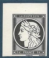 Cérès 5.00 € Du Bloc Salon D'automne - 170 Ans Du Premier Timbre Poste Français (2019) Neuf** - Ungebraucht