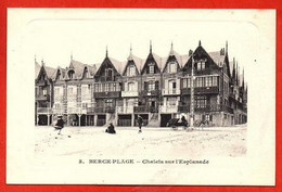 3. BERCK-PLAGE .  Chalets Sur L'Esplanade. - Berck