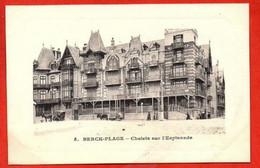 5. BERCK-PLAGE .  Chalets Sur L'Esplanade. - Berck