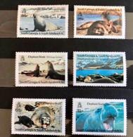 SOUTH GEORGIA 1991 6 V Neuf ** MNH Marine Mammals Éléphant De Mer - Otros
