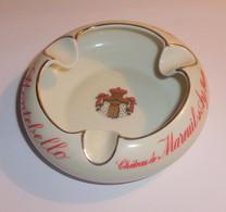 Cendrier Vintage Champagne Montebello - Château De Mareuil Sur Ay - Porcelaine Bernardaud Limoges - Porcelana