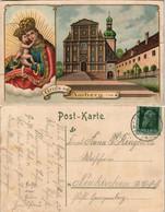 Ansichtskarte Amberg 2-Bild-Gruss-Postkarte 1910 - Amberg