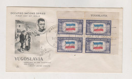 UNITED STATES 1943 Nice Cover Flag Yugoslavia - Brieven En Documenten