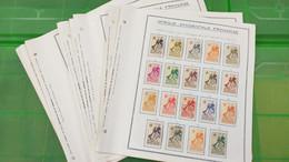 Lot N° TH 661 COTE DES SOMALIS Et Divers  Neufs Ou Obl. Sur Page D'albums - Collections (en Albums)