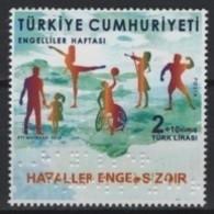 Turkey (2019) - Set -  /  Wheelchair - Music - Blind - Braile - Basketball - UNUSUAL - Handicaps