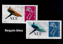 NOUVELLE CALEDONIE (New Caledonia)-  Timbre Personnalisé - Poisson Requin Bleu - Fish Blue Shark - 2020 - Unused Stamps
