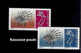 NOUVELLE CALEDONIE (New Caledonia)-  Timbre Personnalisé - Poisson Rascasse Poule - Scorpion Fish  - 2020 - Unused Stamps