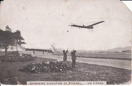 262814Quinzaine D'Aviation De Stockel Un Virage (voir Coins) - St-Pieters-Woluwe - Woluwe-St-Pierre