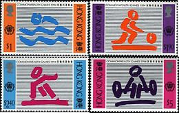 Ref. 37811 * NEW *  - HONG KONG . 1994. COMMONWEALTH GAMES. JUEGOS DE LA COMMONWEALTH - Nuovi
