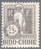 INDO CHINA   SCOTT NO J31    MNH    YEAR  1922 - Impuestos