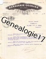69 7395 LYON RHONE 1914 BRASSERIE GEORGES Chemin De Choulans ( Abimee A Gauche ) - 1900 – 1949