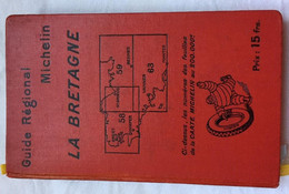 Guide Michelin LA BRETAGNE 1926 - Michelin (guides)