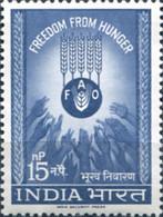 Ref. 325826 * NEW *  - INDIA . 1963. CAMPAIGN AGAINST HUNGER. CAMPA�A CONTRA EL HAMBRE - Nuovi