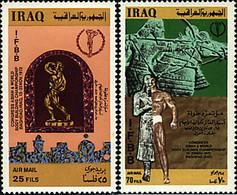 Ref. 48516 * NEW *  - IRAQ . 1972. ATHLETICS WORLD CONGRESS. CONGRESO MUNDIAL DE ATLETISMO - Iraq