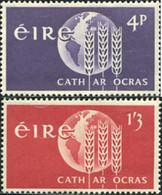 Ref. 164431 * NEW *  - IRELAND . 1963. WORLD CAMPAIGN AGAINST HUNGER. CAMPA�A MUNDIAL CONTRA EL HAMBRE - Nuovi