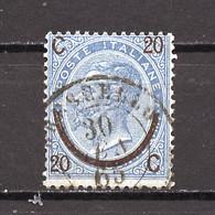 Italie - Italy - Italien 1865 Y&T N°22 - Michel N°25 (o) - 20s15c Victor Emmanuel II Type III - Usados