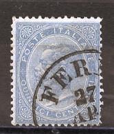 Italie - Italy - Italien 1863-77 Y&T N°17 - Michel N°(?) (o) - 15c Victor Emmanuel II - Usati