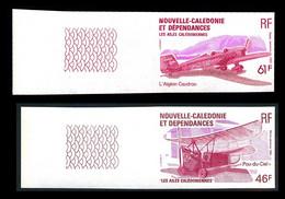 NOUV.-CALEDONIE 1983 - Yv. PA 230 Et 231 ND ** SUP Bdf - Avions (2 Val) Imperf NON DENTELE  ..Réf.NCE25792 - Geschnitten, Drukprobe Und Abarten