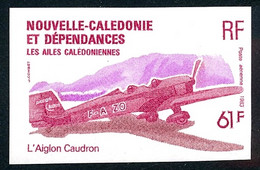 NOUV.-CALEDONIE 1983 - Yv. PA 231 ND ** SUP - Avion Aiglon Caudron - Imperf NON DENTELE  ..Réf.NCE25798 - Geschnitten, Drukprobe Und Abarten