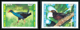 NOUV.-CALEDONIE 1985 - Yv. 510 Et 511 ND ** SUP - Oiseaux (2 Val.) Imperf NON DENTELE  ..Réf.NCE25790 - Geschnitten, Drukprobe Und Abarten