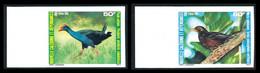 NOUV.-CALEDONIE 1985 - Yv. 510 Et 511 ND ** SUP Bdf - Oiseaux (2 Val.) Imperf NON DENTELE  ..Réf.NCE25791 - Geschnitten, Drukprobe Und Abarten